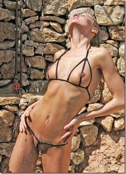 bikini-pleasure-taking-a-refreshing-shower